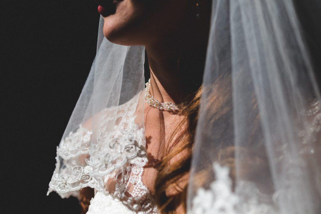 Close-up bruid
